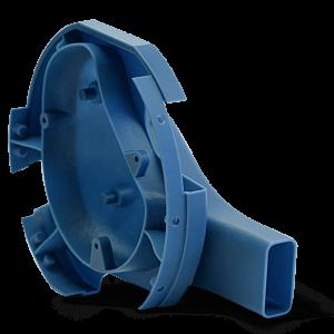 3D Printed Part with Accura Bluestone (SLA)