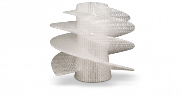 Sample Part 3D Printed inAccura Fidelity (SLA)