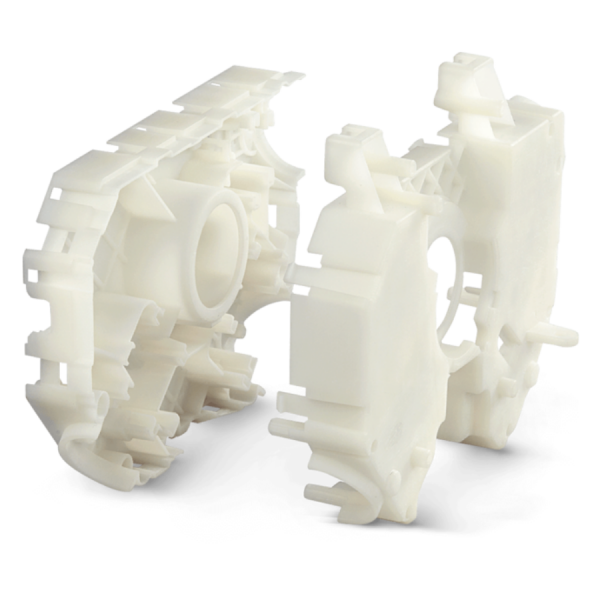 3D Printed Part with Accura PP White (SL 7811) (SLA)