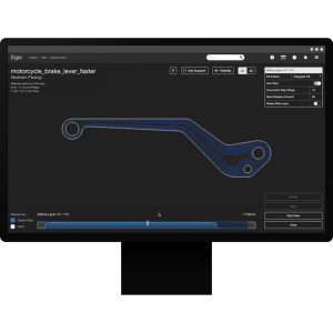 Markforged Eiger software example