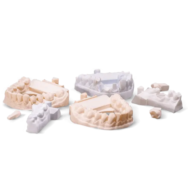 3D Printed Dental models with Visijet M3 Pearlstone