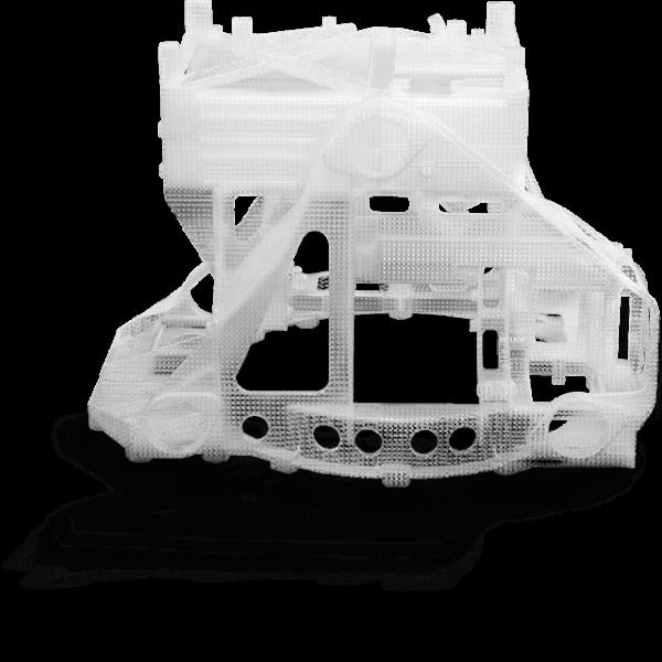 3D Part printed with Accura CastPro (SLA)