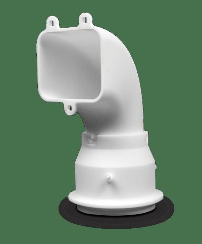 3D Printed part with DuraForm FR1200 (SLS)