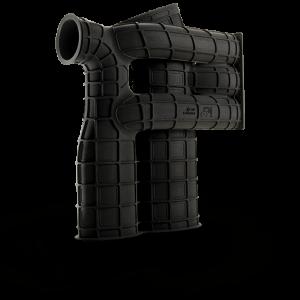 3D Printed part with DuraForm EX Black (SLS)