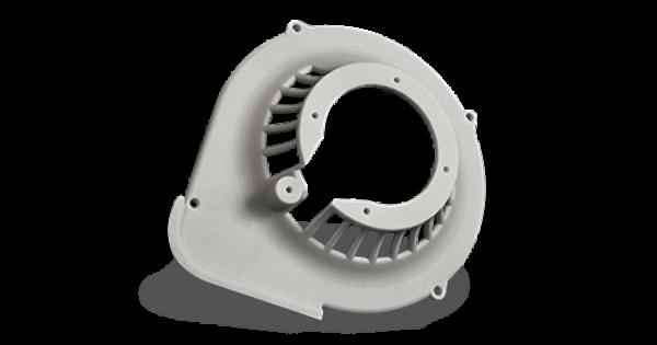 3D Printed part with DuraForm ProX GF (SLS)
