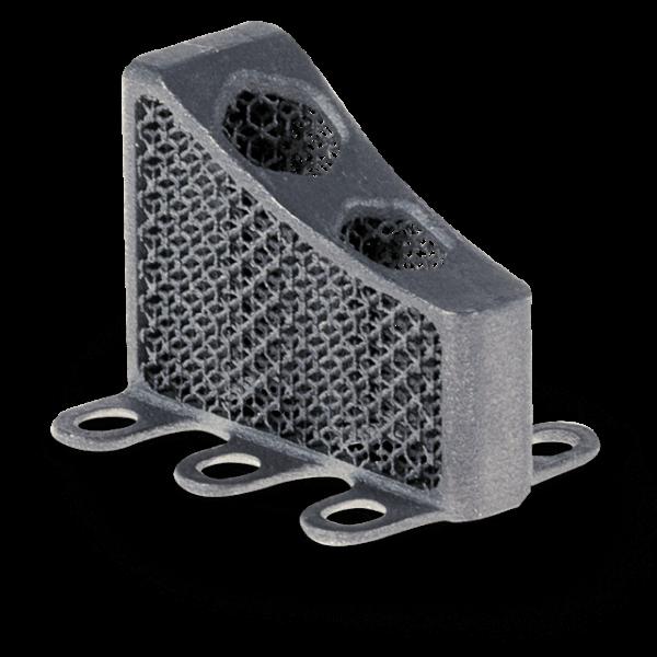 3D Part Printed with Titanium Alloy/ Dental Gr1 (A)