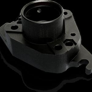 3D Printed Part with VisiJet M3 Black (MJP)