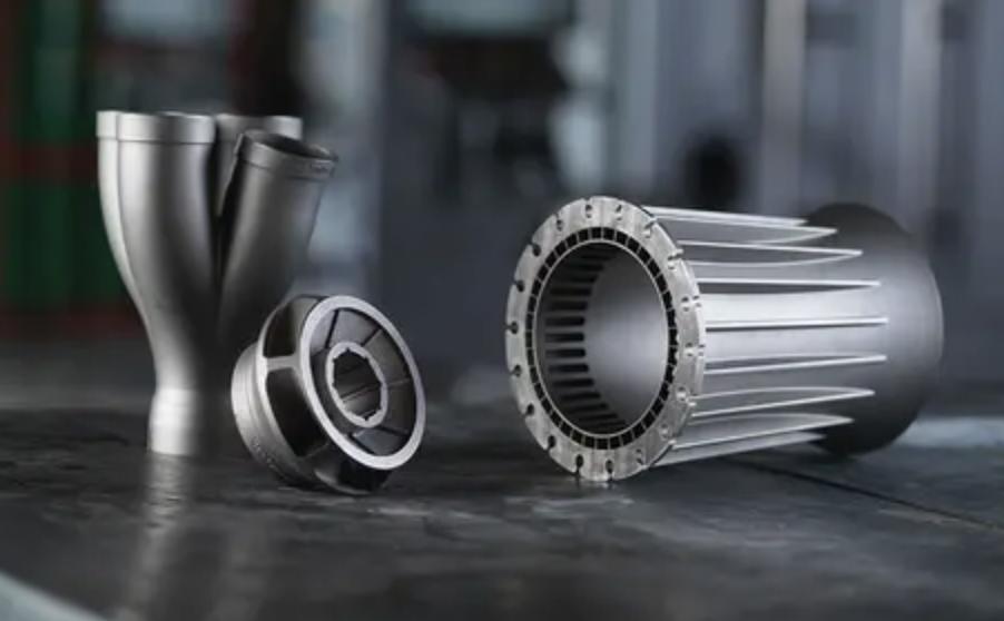 Prototyped metal 3D Printed parts