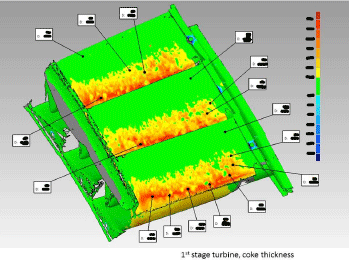 a visual analysis of a 3d model on 3dsystems software